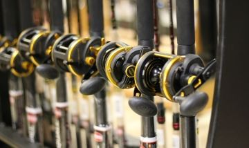 J and W Tackleshop Rods