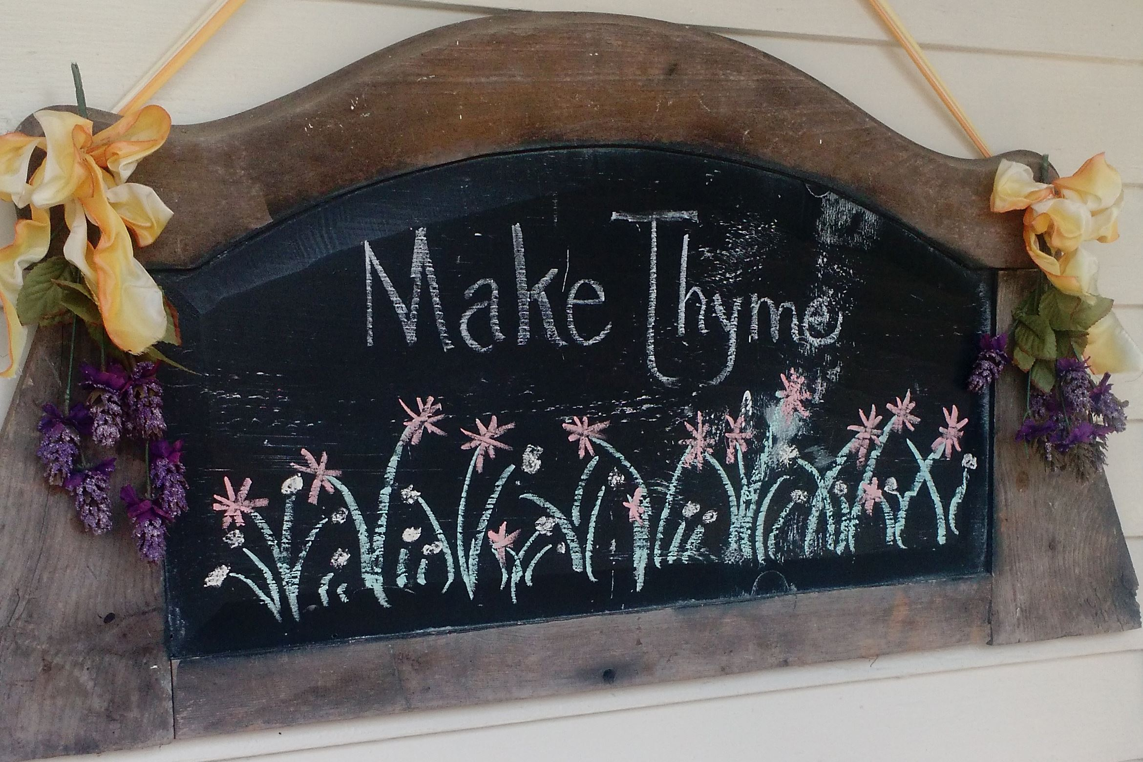 Make Thyme Sign
