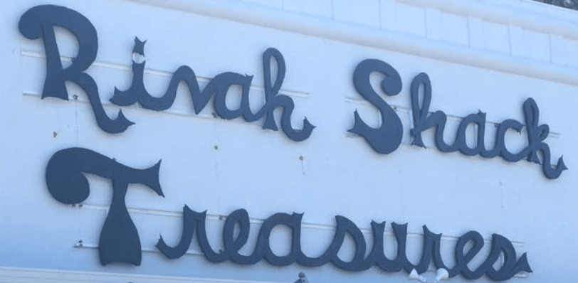 Rivah Shack Treasures Sign