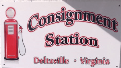 Consignment Station Sign